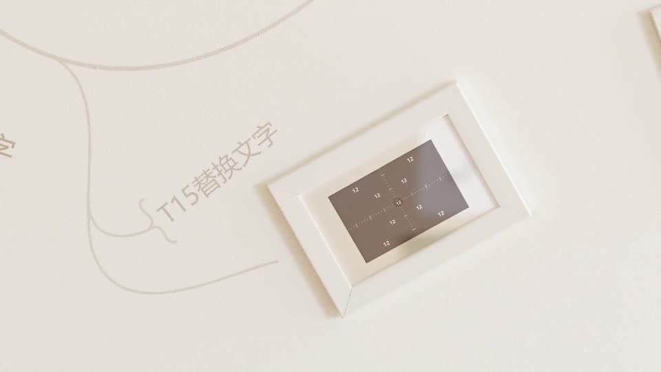室内温馨简洁动画生长相框相册m00012插图12