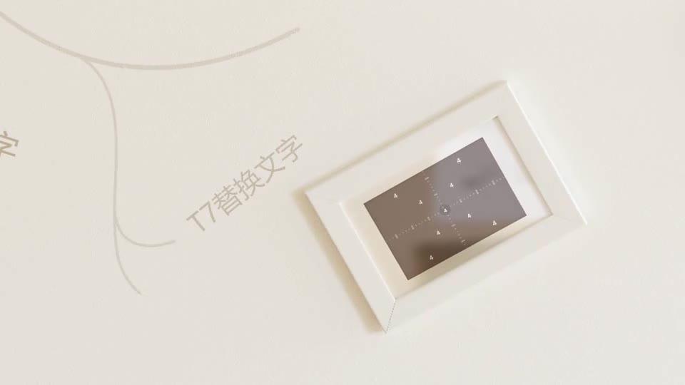 室内温馨简洁动画生长相框相册m00012插图4