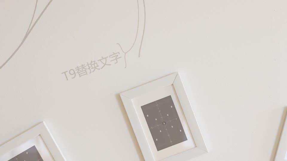 室内温馨简洁动画生长相框相册m00012插图6