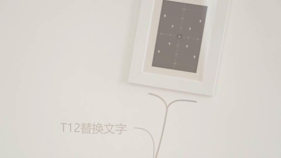 室内温馨简洁动画生长相框相册m00012插图9