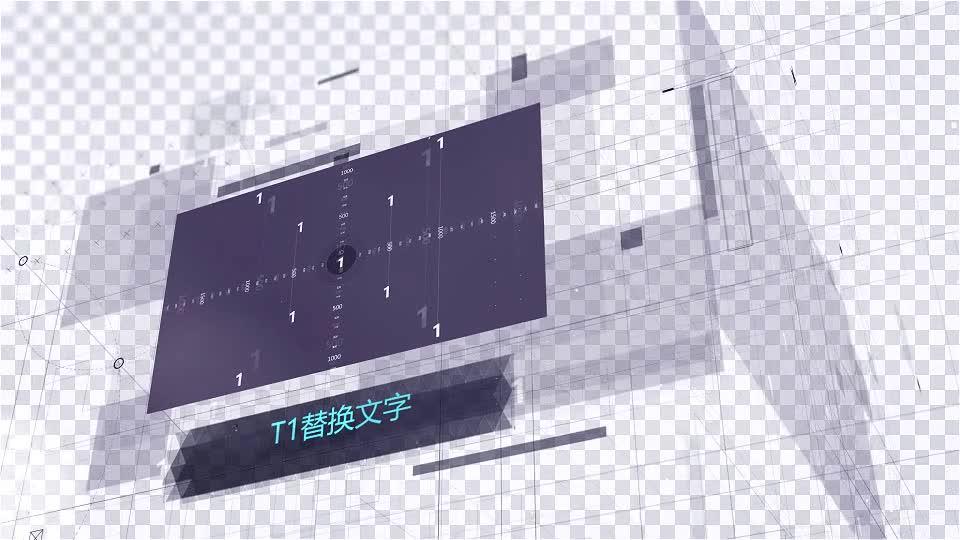 科技效果空间立体图片展示.m00462插图1