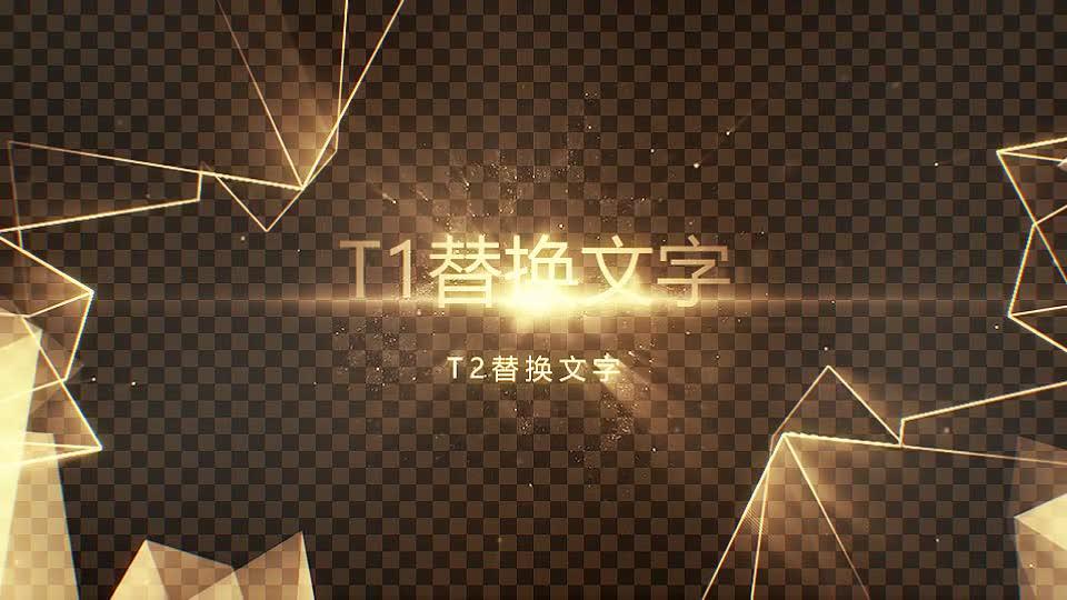 奢华黑金线框字体.m00472插图1