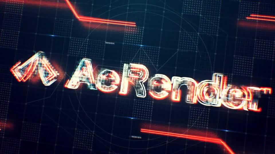 线条描边网格出现logo演绎动画.m00500插图