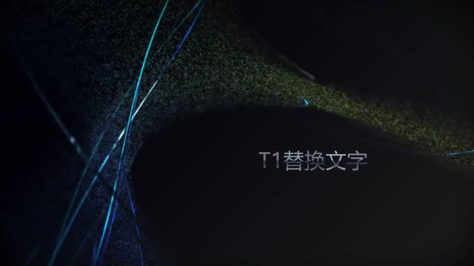 高级粒子线条环绕标题开场01.m00510插图