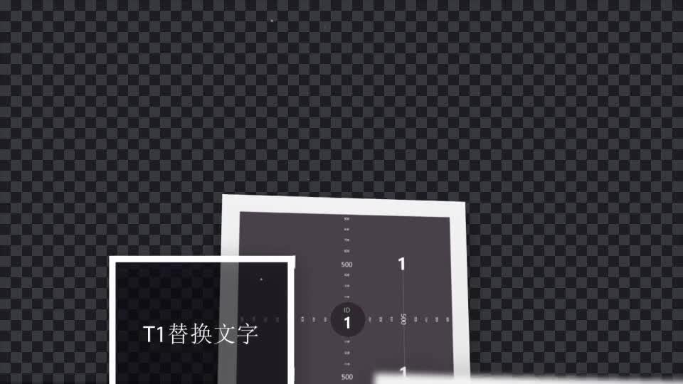 漂浮上升效果的照片展示.m00515插图1