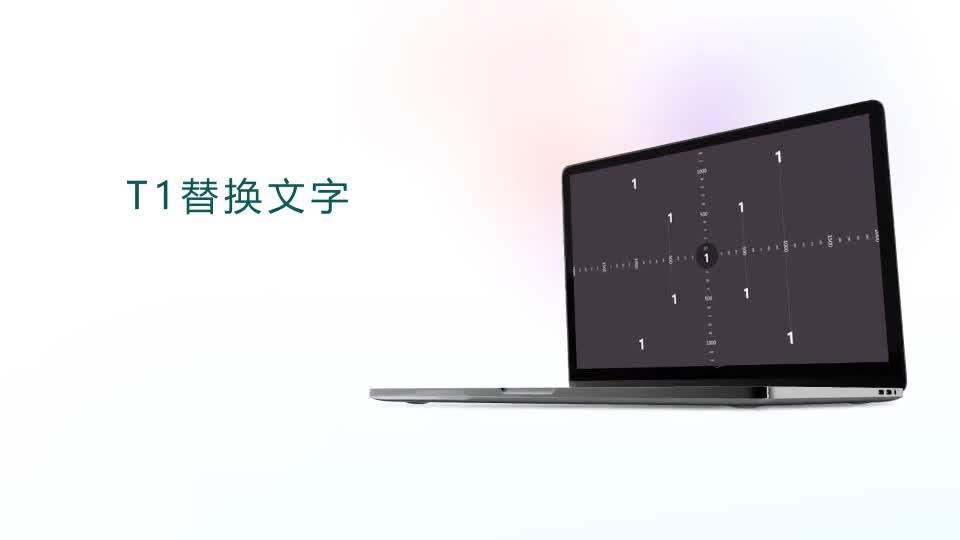 笔记本电脑屏幕样机展示画面.m00520插图